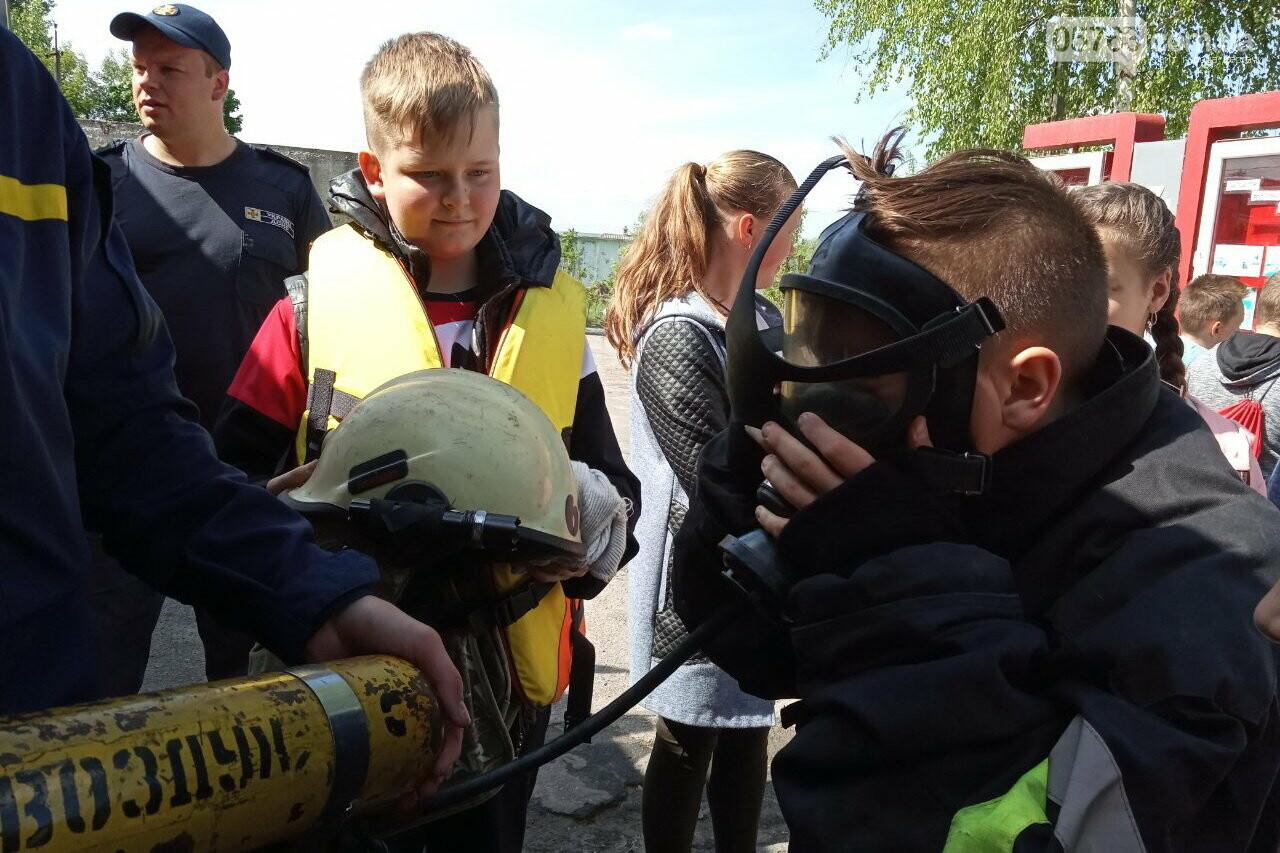 Дергачевский район: интересную экскурсию провели спасатели в пожарном депо , фото-2