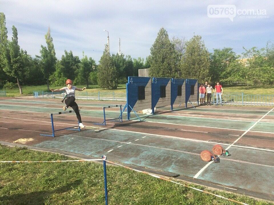 Дергачевские школьники приняли участие в соревнованиях по пожарно-прикладному спорту, фото-2