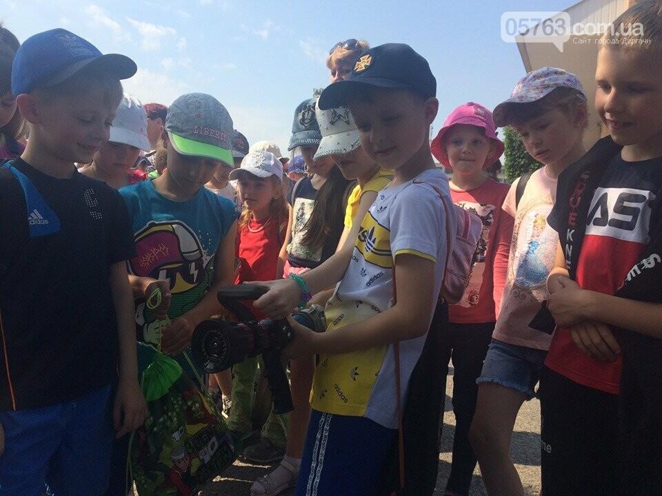 Дергачевские спасатели: провели мастер класс для детей, фото-2