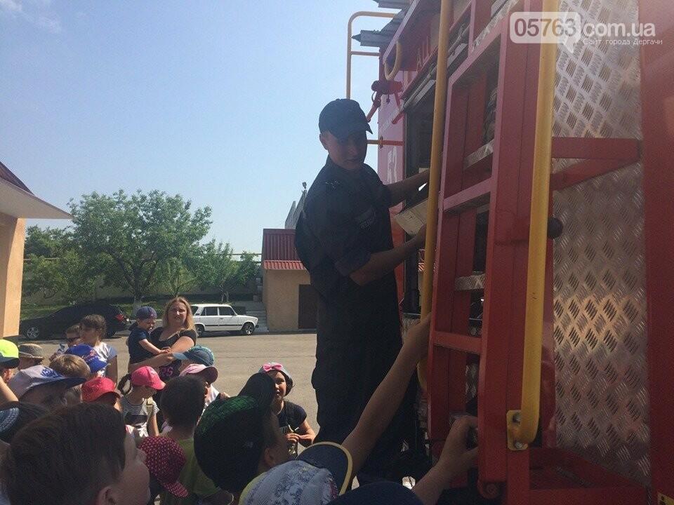 Дергачевские спасатели: провели мастер класс для детей, фото-4