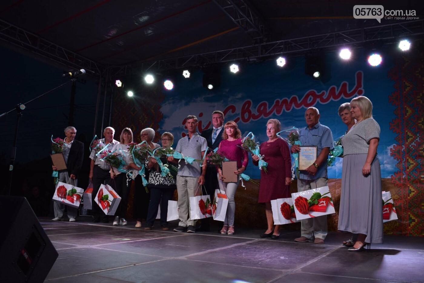 В Дергачах отметили День города, фото-1
