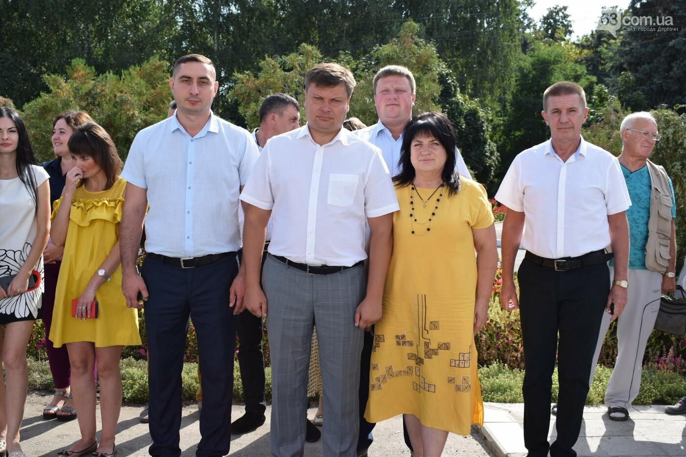 В Дергачах подняли флаг Украины (фото), фото-3