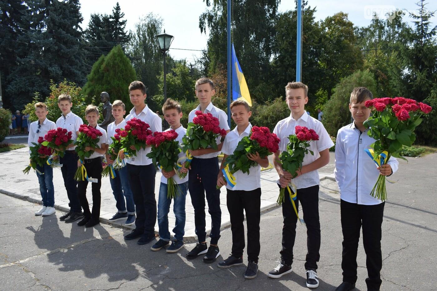 В Дергачах подняли флаг Украины (фото), фото-9