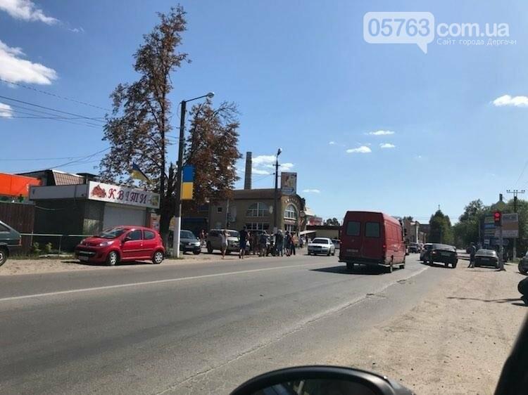 В Дергачах сбили скутериста (Видео), фото-1