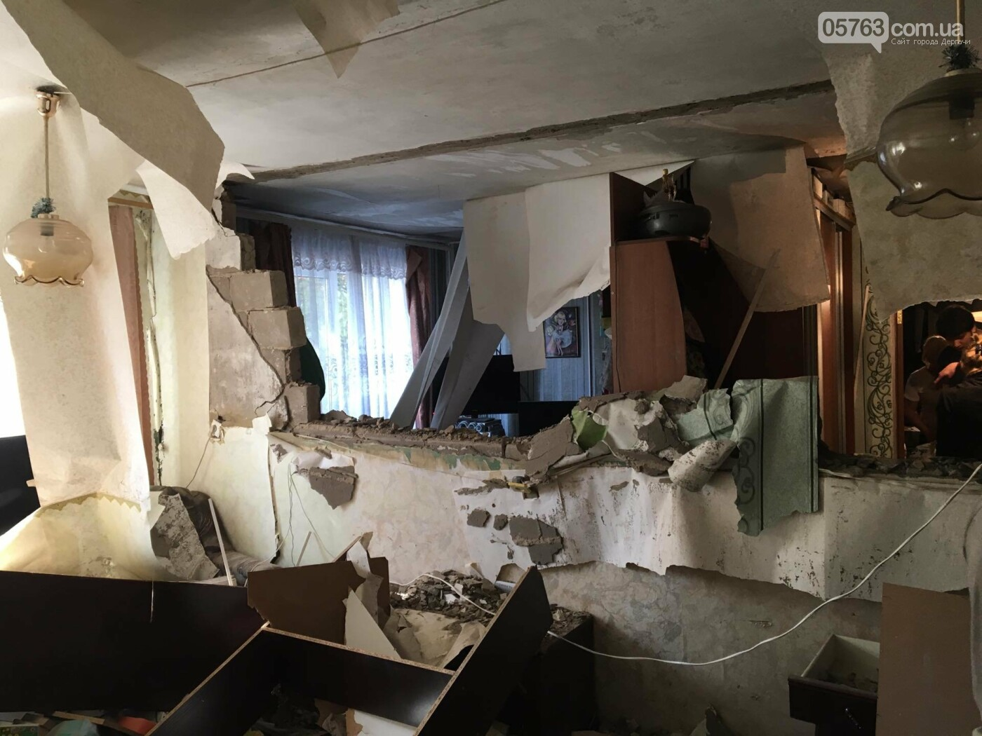 В Дергачах в общежитии прогремел взрыв (Видео), фото-4