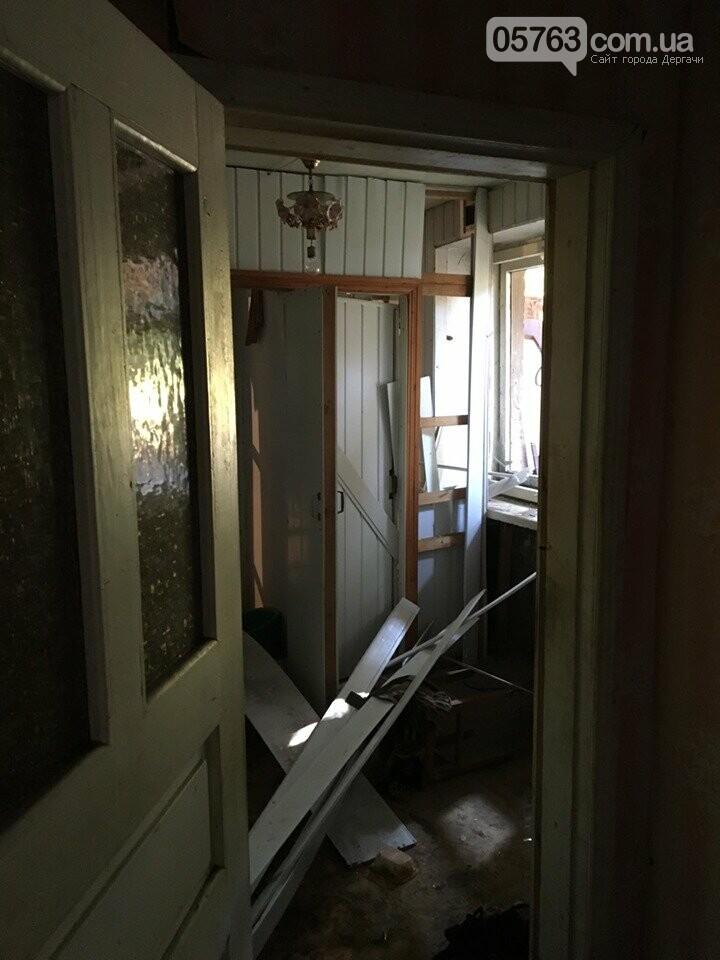 В Дергачах в общежитии прогремел взрыв (Видео), фото-7