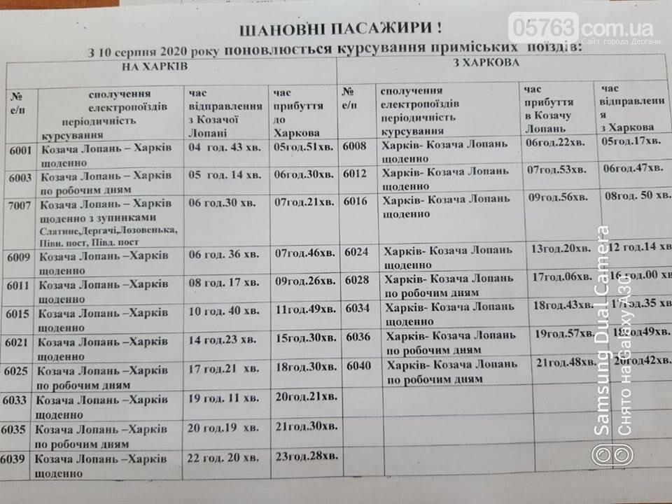 Количество электропоездов «Харьков - Казачья Лопань» восстановили, фото-2