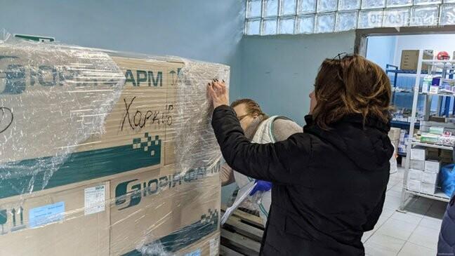 У Харківську область доставили першу партію вакцини від COVID-19 (фото, відео), фото-2