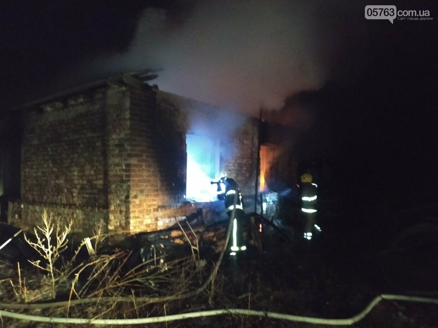 Загорівся приватний будинок: рятувальники знайшли тіло 92-річного чоловіка, - ФОТО, фото-1