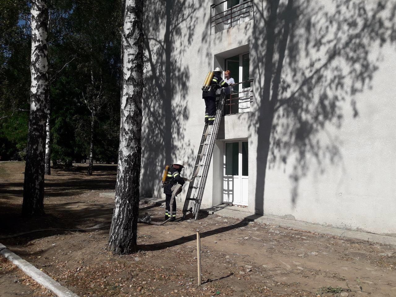Дергачевский район: в санатории в одной из комнат случилось короткое замыкание, фото-1