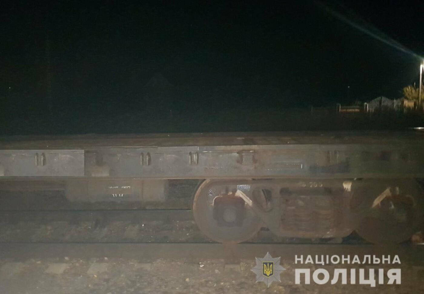 В Дергачах грузовой поезд насмерть сбил мужчину, сидевшего на рельсах, - ФОТО, фото-2
