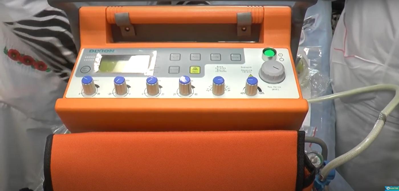 В Богодуховской районной больнице появился первый портативный аппарат ИВЛ - ФОТО, ВИДЕО, фото-3