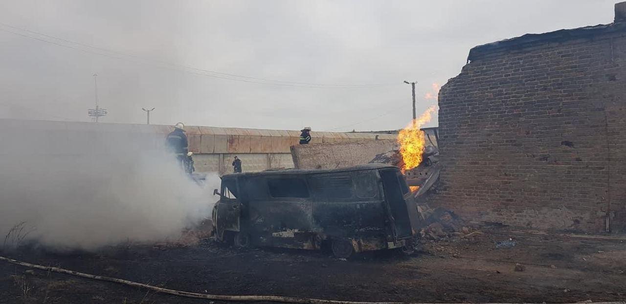 Мощный взрыв на газораспределительной cтанции в Дергачевском районе (фото), фото-5
