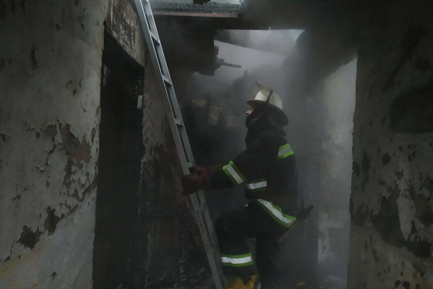 В Дергачівській громаді на пожежі загинула людина (фото, відео), фото-1